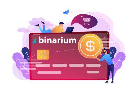 How to Deposit Money in Binarium