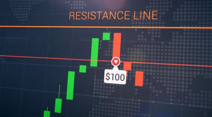 Rebound line Strategy on the Binarium platform